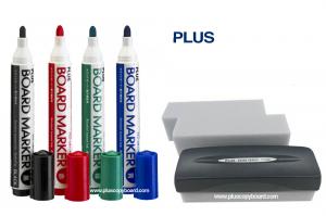 Plus Board Marker & Eraser