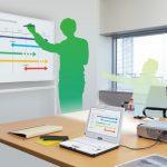 Projector Screen Whiteboard WB-1809PSJ-EU-B