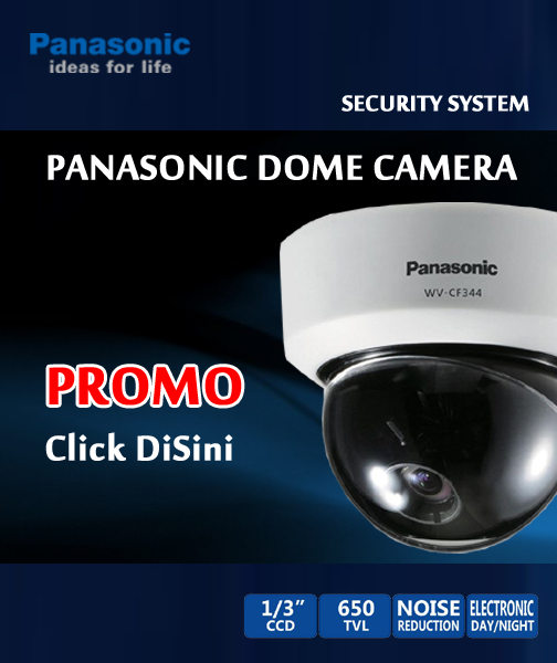 cctv panasonic dome