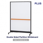 Double Sided Partition Whiteboard