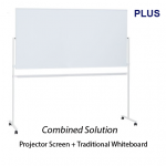 Projector Screen Whiteboard WB-1809PSJ-EU-B